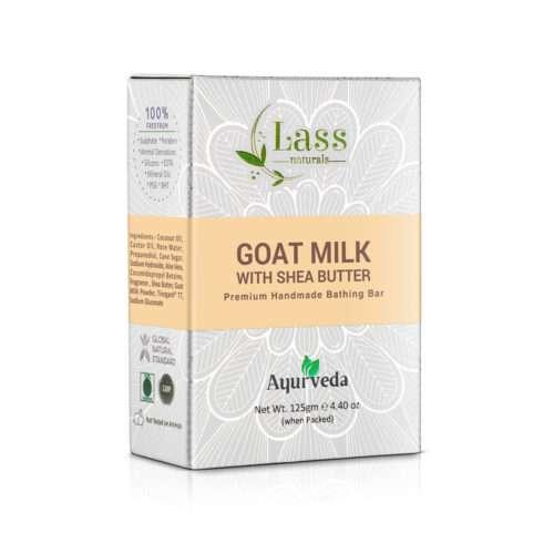 Goat Milk with Shea Butter Handmade Premium Bathing Bar