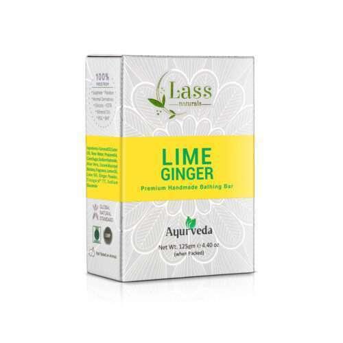 Lime & Ginger Handmade Premium Bathing Soap