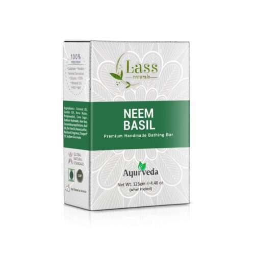 Neem & Basil Soap Handmade Premium Bathing Soap