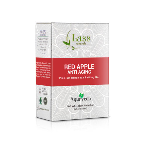 Red Apple Anti Aging Handmade Premium Bathing Soap