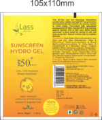Sunscreen Hydro Gel with SPF 50+