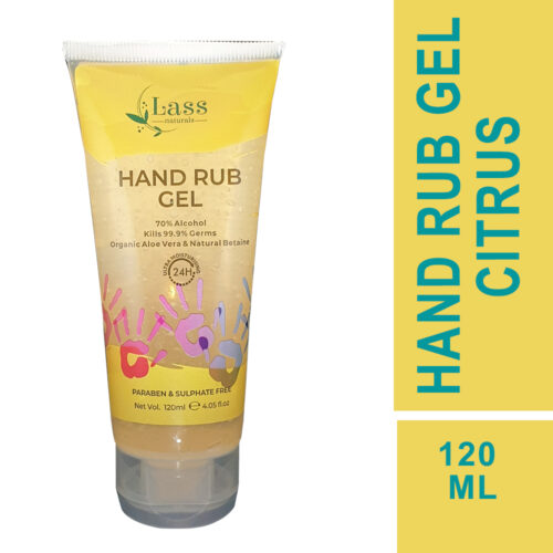 Sanitize Hand Rub Gel 70% Alcohol Based Sanitizer (Citrus),120ML