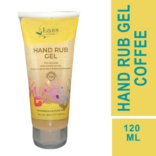 Sanitize Hand Rub Gel 70% Alcohol Based Sanitizer (Coffee) 120ml.